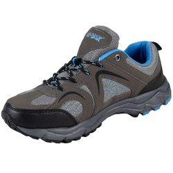 AIR STAR Damen Trail Runningschuhe, Grau/ Blau