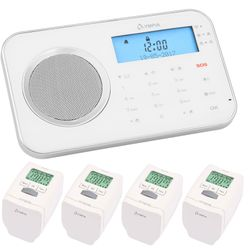 Olympia Prohome 8700 Radio Maison Alarme Wlan / Gsm et Smart Maison Fonctions