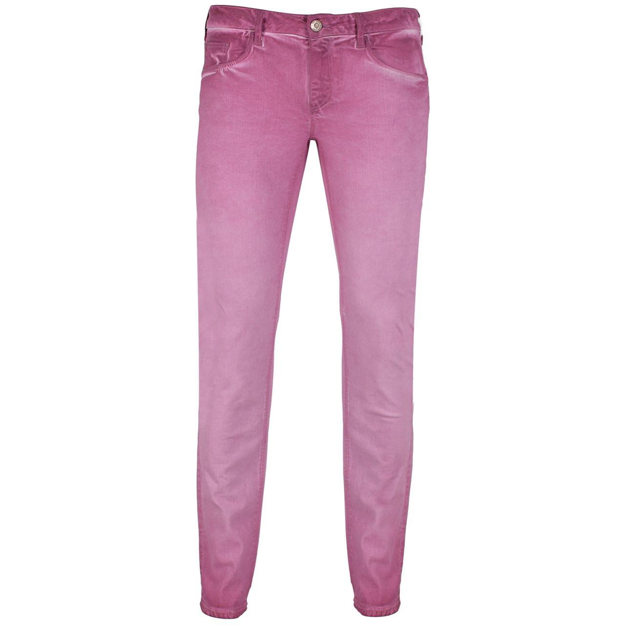 GIN TONIC Damen Slim Jeans 5-Pocket Rose Wine