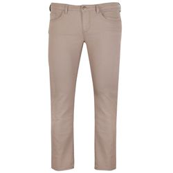 GIN TONIC Damen Slim Jeans 5-Pocket-Design Beige