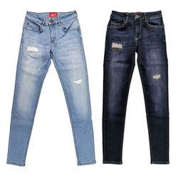 SAM Damen Skinny Jeans  5-Pocket Jeans light blue oder dark blue  Lift Effekt