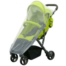 H+H BS 507 Mosquito Net for Jogger's Buggy, White