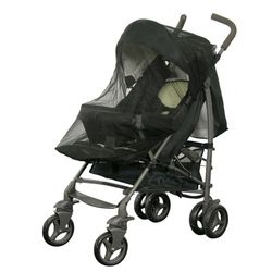 H+H BS 519 Mosquito Net for Buggies in Black