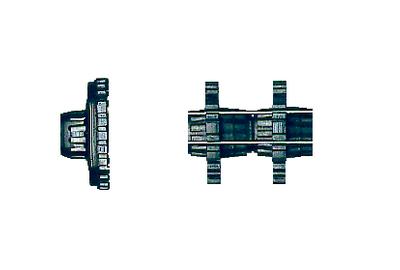 Pfeilhaltersystem für Stahlnadelpfeile / .40 Kaliber 001