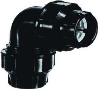 PE-Winkelkupplung DA 50 mm