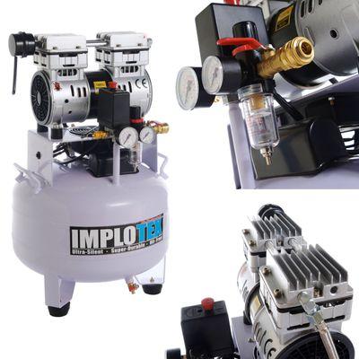 850W Silent Flüsterkompressor Druckluftkompressor nur 55dB leise ölfrei flüster Kompressor Compressor IMPLOTEX – Bild 4