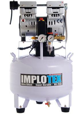 850W Silent Flüsterkompressor Druckluftkompressor nur 55dB leise ölfrei flüster Kompressor Compressor IMPLOTEX – Bild 1