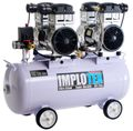 3000W 4PS Silent Flüsterkompressor Druckluftkompressor 65dB leise ölfrei flüster Kompressor Compressor IMPLOTEX