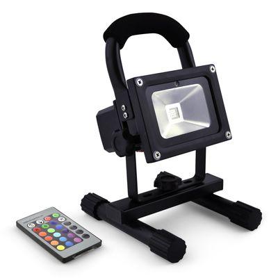10W RGB Akku-LED-Flutlicht Baustrahler 1000lm 4400mAh LiIon Epistar IMPLOTEX – Bild 1