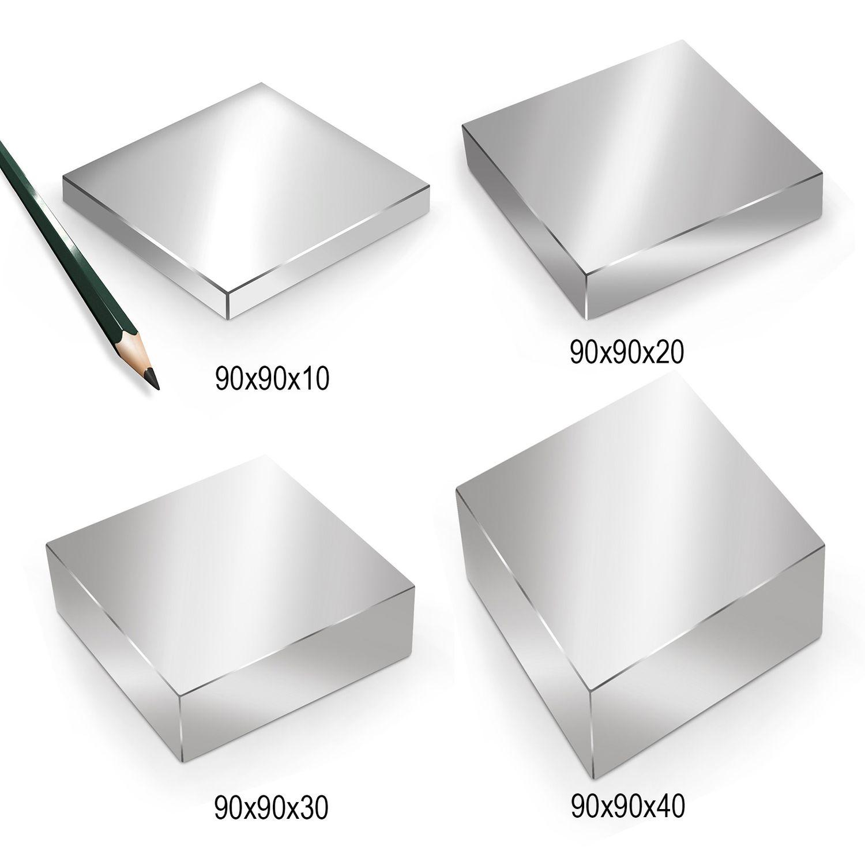MIT HOHER HAFTKRAFT LEISTUNGSSTARK 10x NEODYM QUADER MAGNET 30x5x5 mm