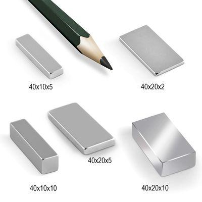 Neodym Magnet Magnete Quader groß ab 30mm von 18KG bis ca. 1000KG Zugkraft N45 N52 vernickelt NdFeB – Bild 4