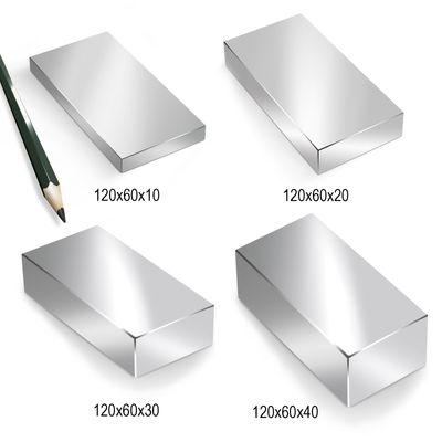 Neodym Magnet Magnete Quader groß ab 30mm von 18KG bis ca. 1000KG Zugkraft N45 N52 vernickelt NdFeB – Bild 17
