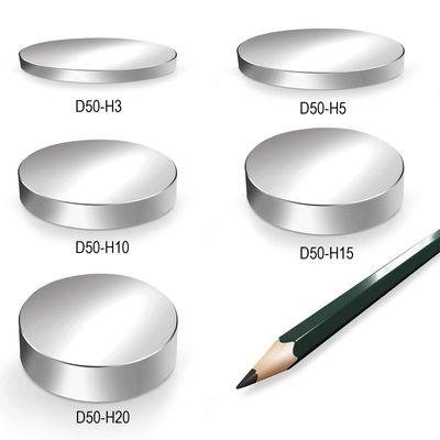 Neodym Magnet Magnete Scheibe groß ab 30mm 40KG bis ca. 1600KG Zugkraft N45 N52 vernickelt NdFeB – Bild 6