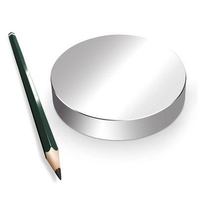 Neodym Magnet Magnete Scheibe groß ab 30mm 40KG bis ca. 1600KG Zugkraft N45 N52 vernickelt NdFeB – Bild 15