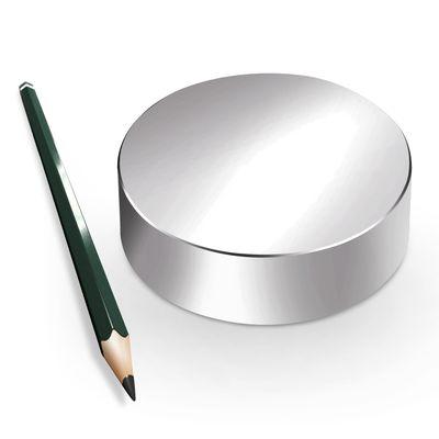 Neodym Magnet Magnete Scheibe groß ab 30mm 40KG bis ca. 1600KG Zugkraft N45 N52 vernickelt NdFeB – Bild 16