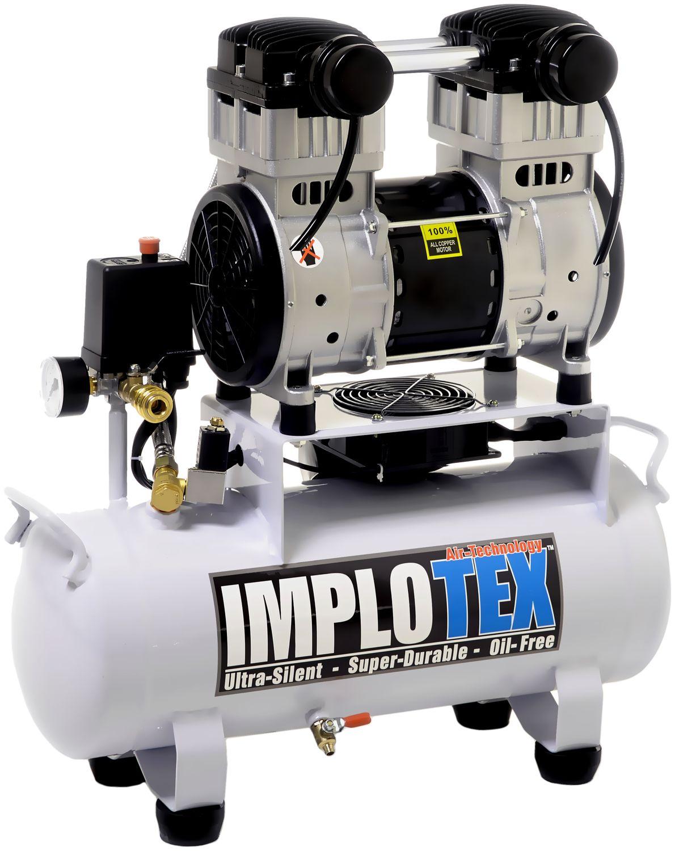 Druckluft Ausblaspistole mit Schnellkupplungsadapter IMPLOTEX