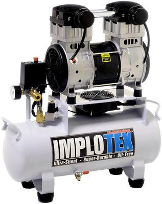 1500W 2PS 18L Silent Flüsterkompressor Druckluftkompressor 60dB leise ölfrei flüster Kompressor Compressor IMPLOTEX – Bild 2