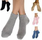 Albero Sneaker Socken Damen Herren Biobaumwolle 1 bis 18 Paar