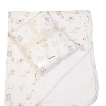 Ege Organics Baby Decke Bio-Baumwolle GOTS Fleece 85x100cm – Bild 6