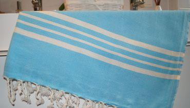 Strandtuch Baumwolle  Badetuch Duschtuch KS100x180cm – Bild 6