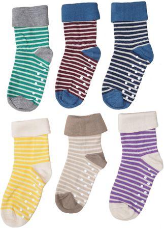 Albero Baby Kinder Socken Stoppersocken Bio-Baumwolle 1-2-4 Paar