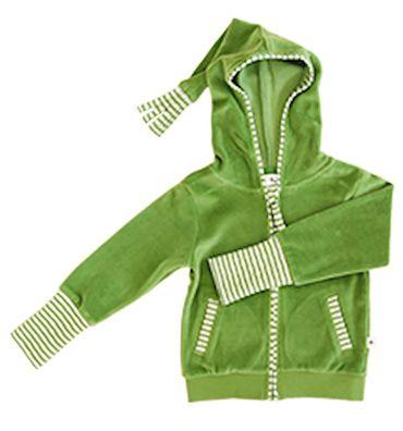 Leela Cotton Baby Kinder Nicky Kapuzen Jacke Bio-Baumwolle  – Bild 7