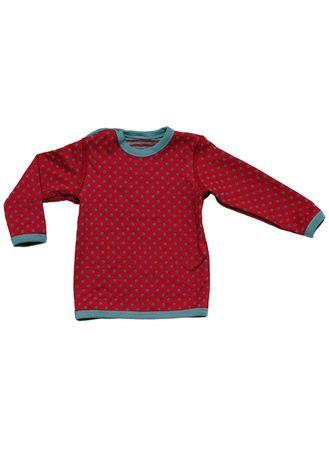 Leela Cotton Baby Kinder Wende Langarm Shirt Bio-Baumwolle T-shirt – Bild 4
