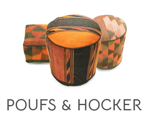Poufs Hocker
