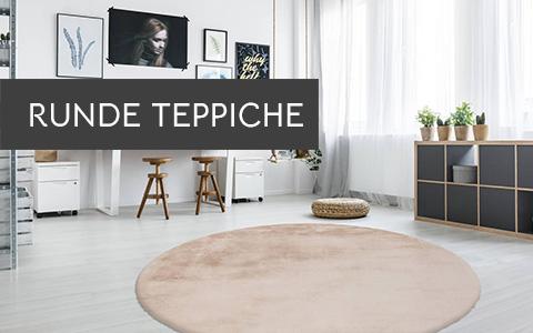 Runde Teppiche Modern