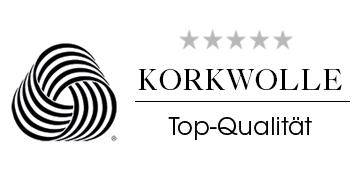 Korkwolle Top Qualität Wolle Siegel