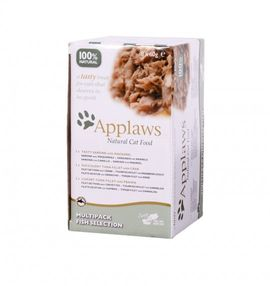 Applaws Cat Multipack Fish Selection Pots 8 x 60g – Bild $_i