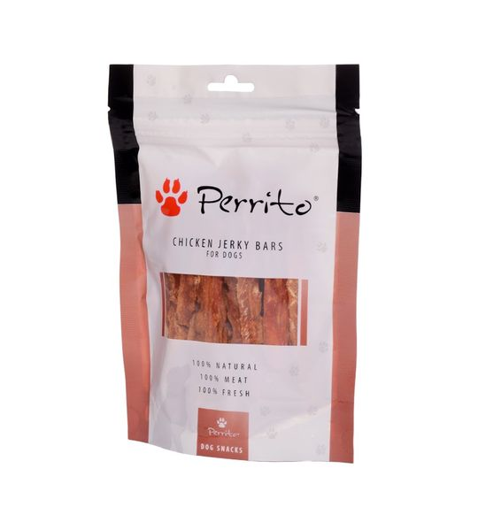 Perrito Snack Chicken Jerky Bars 100g