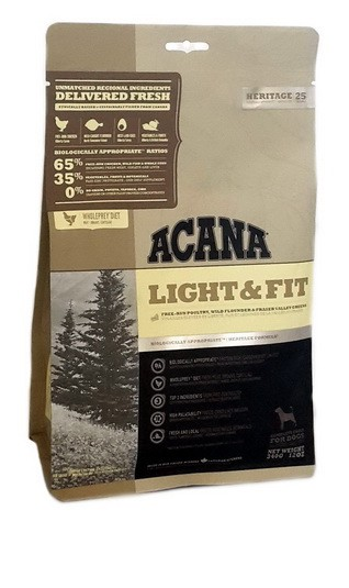 Acana Heritage Light & Fit 340g