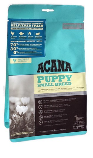 Acana Heritage Puppy Small Breed 340g