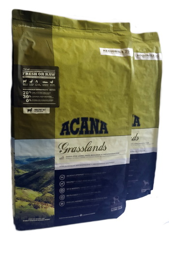 Big Pack Acana Grasslands Dog 22,8kg (2x 11,4kg)