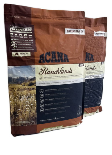 Acana Ranchlands Cat 10,8kg (2 x 5,4kg) *Angebot*