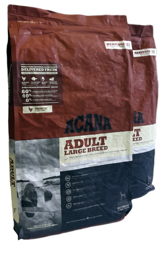 Acana Heritage Adult Large Breed Big Pack 22,8kg (2 x 11,4kg) Angebot
