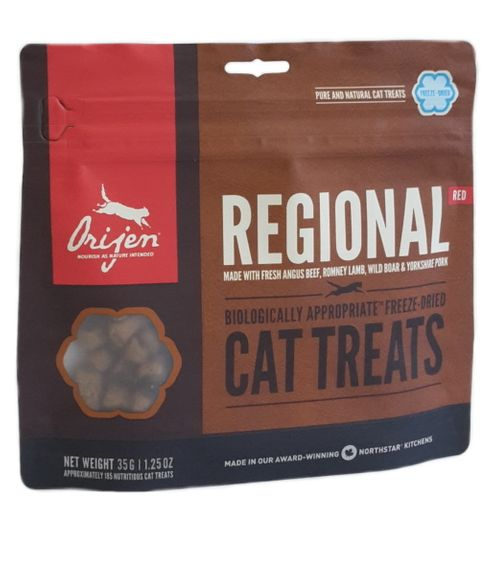 Orijen Regional Red FD Treat Cat 35g