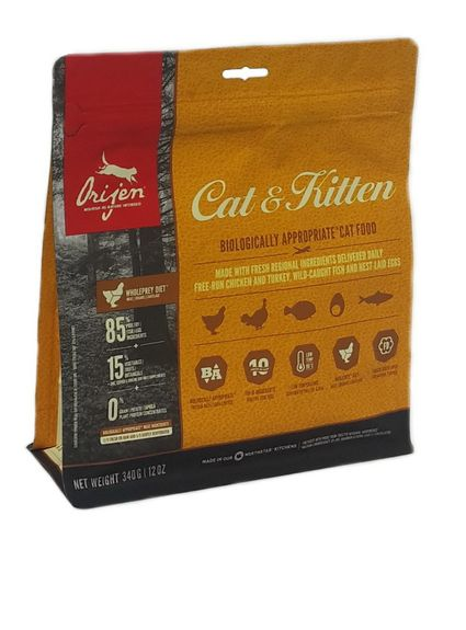 Orijen Cat & Kitten Whole Prey 340g