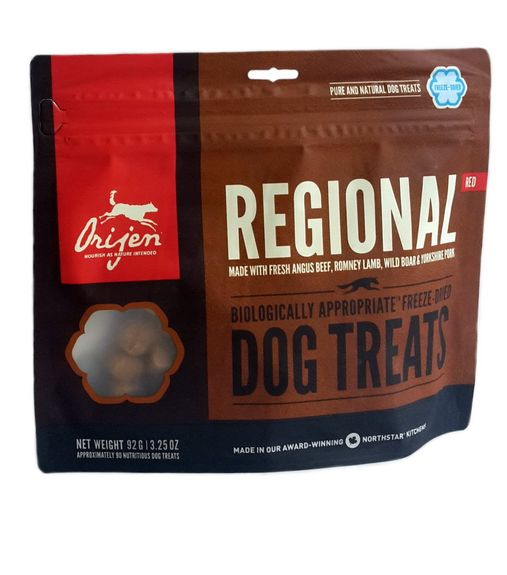 Orijen Regional Red FD Treat 92g