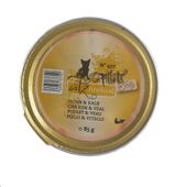Fillets N°407-Catz finefood Huhn & Kalb in Jelly 85g 001