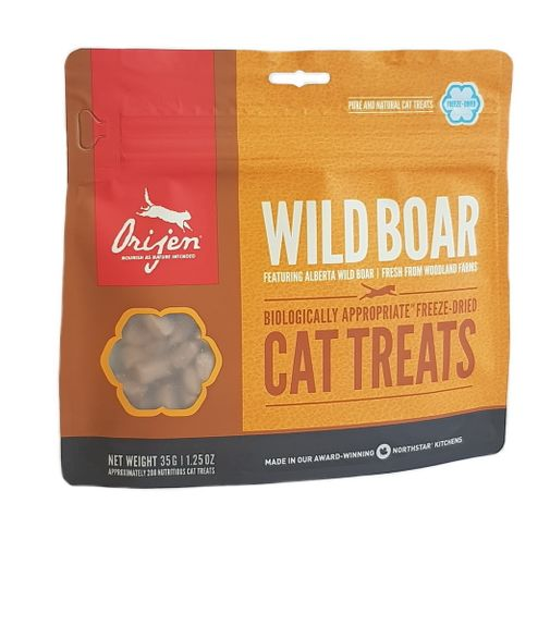 Orijen Wild Boar FD Treat Cat 35g