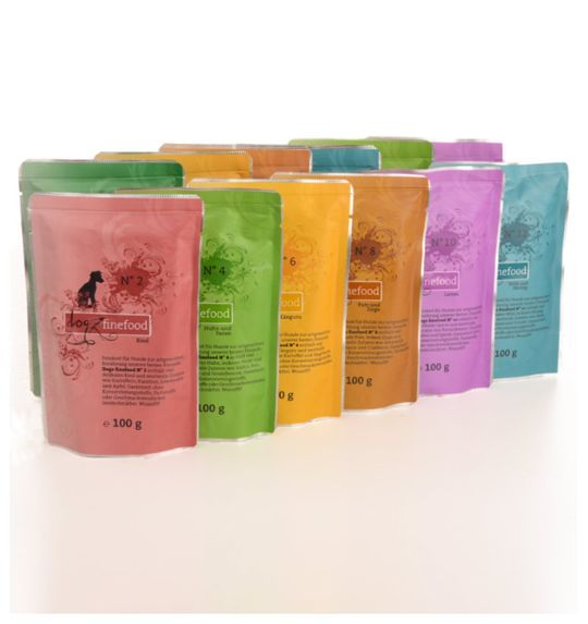 Dogz Finefood Gourmet Selection: (10x100g)