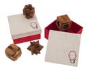 Geschenkbox mit Knobelspielen, Holz-Spiel, Denkspiel, Knobelspiel, Geduldspiel aus Holz – Bild 9