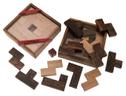 Blitz! (Prof. Dr. Ingo Althöfer, Deutschland, 2006), Familienspiel, Legespiel, Gesellschaftsspiel aus Holz