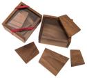 Pollys Steinplatten (Stewart T. Coffin, USA, 1993), Holzspiel, Denkspiel, Knobelspiel, Geduldspiel aus Holz