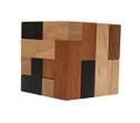 Convolution (Stewart Coffin, USA, 1980), Holzspiel, Denkspiel, Knobelspiel, Geduldspiel aus Holz