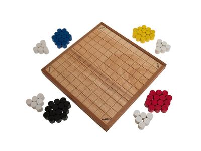 QUOD (Prof. Dr. G. Keith Still, England, 2013), Gesellschaftsspiel für 2 - 4 Personen, Familienspiel, Brettspiel, Gesellschaftsspiel aus Holz – Bild 5