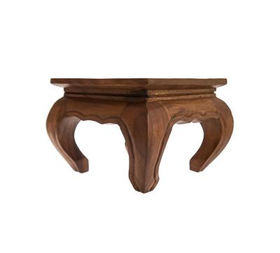 Tisch, groß, niedrig, Beistelltisch Holz – Bild 2
