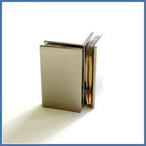 """Eckdusche """"Supreme"""" 800/800mm (Tür, Seite, Seitenteil), Finesse Line, VA-Finish – Bild 4"""